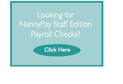 NannyPay Payroll Checks for Purchase
