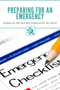 Just In Case – Preparing for an Emergency