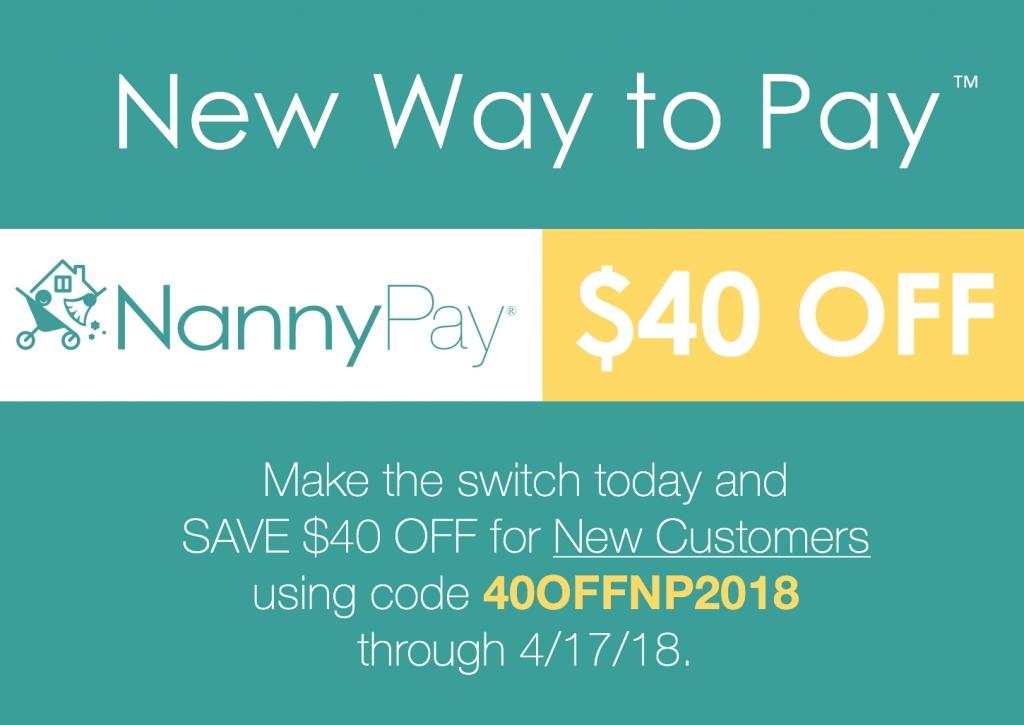 Save with NannyPay this Tax Season
