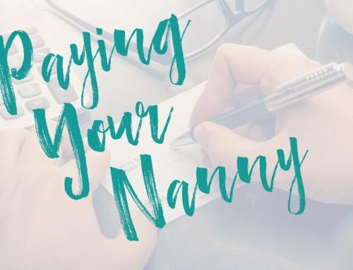 Paying A Nanny