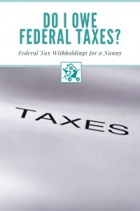 Do I Owe Federal Taxes