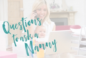interview questions for the nanny