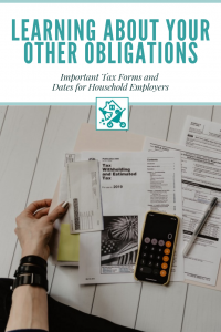 Tax Forms Household Employees
